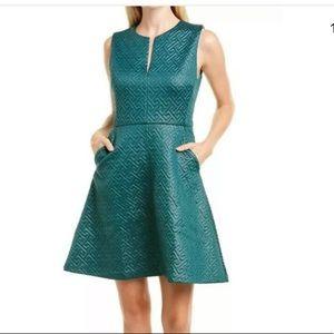 N NATORI women's dress rich green size 2